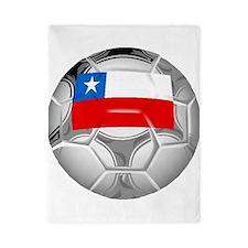 Chile Soccer Ball Twin Duvet