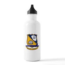 Cool Blue angels Water Bottle