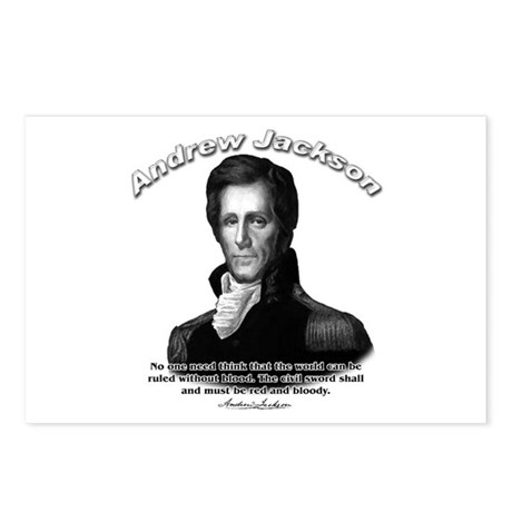 Andrew Jackson 04 Postcards (Package of 8)