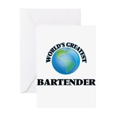 World's Greatest Bartender Greeting Cards