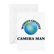 World's Greatest Camera Man Greeting Cards