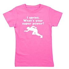 I Sprint Super Power Girl's Tee