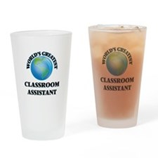 Cute Teaching assistant courses Drinking Glass