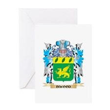 Inwood Coat of Arms - Family Crest Greeting Cards