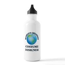 Worlds greatest fashion designer Water Bottle