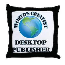 Cute Microsoft publisher Throw Pillow