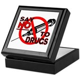 ...Say No To Drugs... Keepsake Box