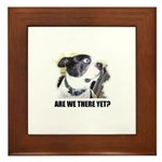 ARE WE THERE YET? Framed Tile