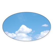 Clouds at the Bottom Decal
