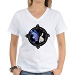 Souleyes Women's V-Neck T-Shirt