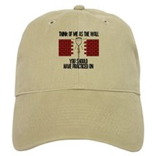 Lacrosse Goalie Wall Baseball Cap