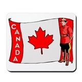 ...Canadian Mountie... Mousepad
