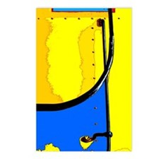 Abstract Art Postcards (package Of 8)