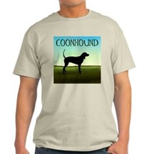 Coonhound In A Field T-Shirt
