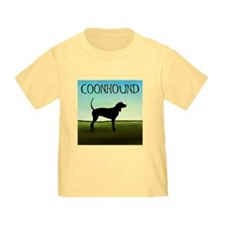Coonhound In A Field T