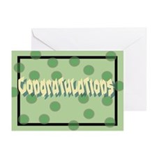 """Congratulations"" Greeting Cards (Pk of 10)"