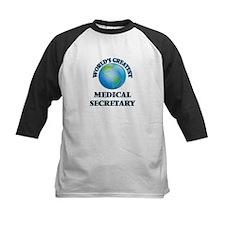 World's Greatest Medical Secretary Baseball Jersey
