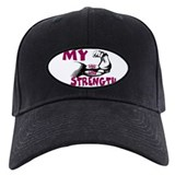 CHRISTIAN GEAR MY STRENGTH GOD'S WORD Baseball Hat