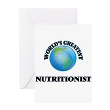 World's Greatest Nutritionist Greeting Cards