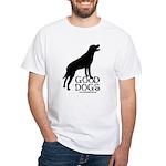 Good Dogs White T-Shirt