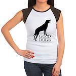 Good Dogs Women's Cap Sleeve T-Shirt