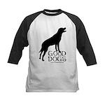 Good Dogs Kids Baseball Jersey