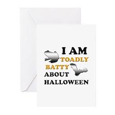 Batty Halloween Greeting Cards (Pk of 10)