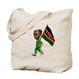 Kenya Girl Tote Bag