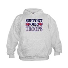 ...Support Our Troops U.K... Hoody