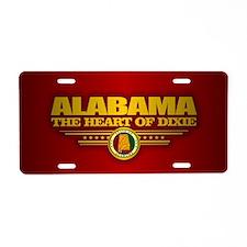 Alabama (f15) Aluminum License Plate