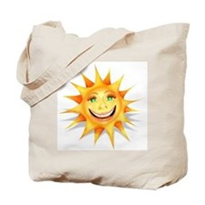 """""""Today's Weather: Happy"""" Sun Tote Bag"""