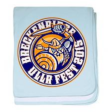 UllrFest 2015 Blue baby blanket