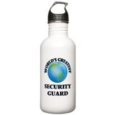 Cute Armed security guards Water Bottle