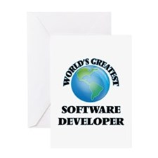 World's Greatest Software Developer Greeting Cards