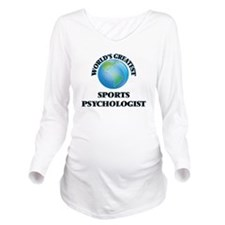 Cute Sports psychologists Long Sleeve Maternity T-Shirt