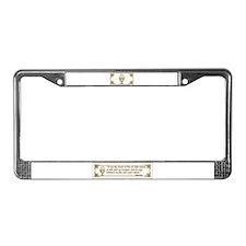 Sacraments License Plate Frame