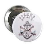 "Bone Navy 2.25"" Button (100 pack)"
