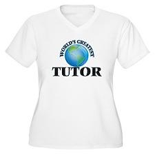 World's Greatest Tutor Plus Size T-Shirt