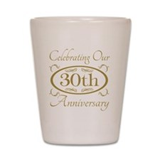 Cute Marriage anniversary Shot Glass