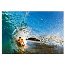 Hawaii, Maui, Makena - Big Beach, Boogie Boarder R