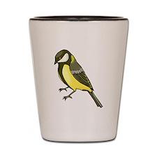 Goldfinch Shot Glass