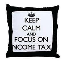 Cute Tax Throw Pillow