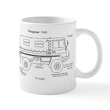 Pinzgauer 710M Truck Specs Mug