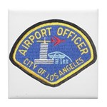 LAX Police Tile Coaster