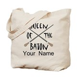 Queen of the baton Totes & Shopping Bags