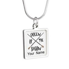 Funny Female Music Conductor Necklaces