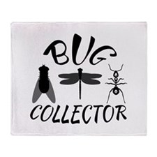 Bug Collector Throw Blanket