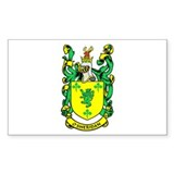 O'SHERIDAN 1 Coat of Arms Rectangle Decal