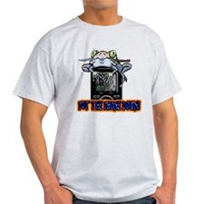 Put The Phone Down Frog With Knife T-Shirt
