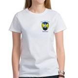 Proud to be a Fencer Women T-Shirt (front &amp; back)